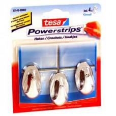 TESA POWERSTRIPS SMALL OVAAL WIT 16 0 WIT