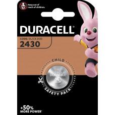 DURACELL CR2430 LITHIUM 3 VOLT - BP1