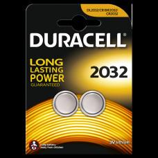 DURACELL LITHIUM KNOOPCEL 3V DL2032 BL2 (20 STUKS)