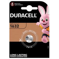 DURACELL CR1632 LITHIUM 3 VOLT - BP1